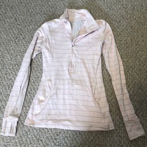 lululemon half zip light jacket